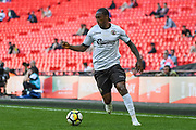 Brandon Hanlan of Bromley FC (9) in action during the FA Trophy match between Brackley Town and Bromley at Wembley Stadium, London, England on 20 May 2018. Picture by Stephen Wright.