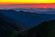 Summer time on the ridge of Kozya Stena (Goat's Wall) reserve, Central Balkan Natual Park, Balkan Mountains