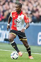 ROTTERDAM - Feyenoord - SC Cambuur , Voetbal , Seizoen 2015/2016 , Eredivisie , Feijenoord Stadion De Kuip , 06-03-2016 , Speler van Feyenoord Eljero Elia