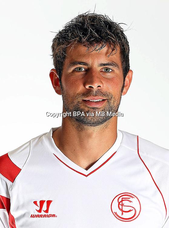 "Spain - La Liga BBVA  2014-2015 / <br /> ( Sevilla Fc ) - <br /> Jorge Andujar Moreno "" Coke """
