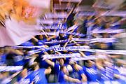 tifosi brescia<br /> Grissin Bon Pallacanestro Reggio Emilia - Germani Basket Leonessa Brescia<br /> Lega Basket Serie A 2016/2017<br /> Reggio Emilia, 27/03/2017<br /> Foto M.Ceretti / Ciamillo - Castoria