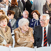 NLD/Amsterdam/20160515 - Nationaal Holocaust museum opent met schilderijen Jeroen Krabbé,