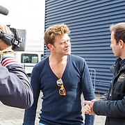 NLD/Amsterdam/20150906 - Amsterdam City Swim 2015, Beau van Erven Dorens in gesprek met Peter van der Vorst