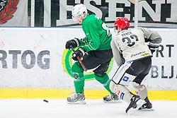 Miha Zajc of HK SZ Olimpija during Ice Hockey match between HK SZ Olimpija Ljubljana and HDD Jesenice in Round #24 of Alps Hockey League, on December 22, 2018 in Hala Tivoli, Ljubljana, Slovenia. Photo by Ziga Zupan / Sportida