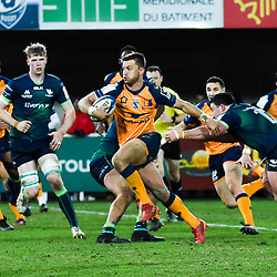 Handre  POLLARD of Montpellier  during the Heineken Champions Cup, Pool five match between Montpellier and Connacht at Altrad Stadium on January 19, 2020 in Montpellier, France. (Photo by Alexandre Dimou/Icon Sport) - Altrad Stadium - Montpellier (France)