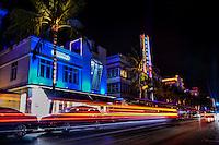 Ocean Drive featuring the Breakwater Hotel