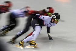 February 17, 2018 - Pyeongchang, Gangwon, South Korea - John-Henry Krueger of United States competing  at Gangneung Ice Arena, Gangneung, South Korea on 17 February 2018. (Credit Image: © Ulrik Pedersen/NurPhoto via ZUMA Press)