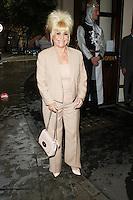 Barbara Windsor, Spamalot - Barbara Windor Guest Appearance, London 05 August 2013 (Photo by Brett D. Cove)
