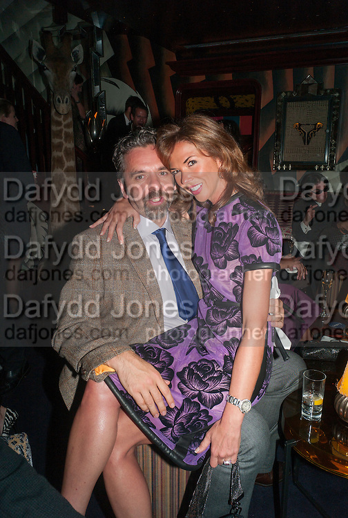 KEITH TYSON; HEATHER KERZNER, Dinner to celebrate the opening of Pace London at  members club 6 Burlington Gdns. The dinner followed the Private View of the exhibition Rothko/Sugimoto: Dark Paintings and Seascapes.