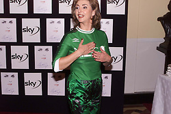 LESLEY GARRETT arriving at The Royal Albert hall, for Elizabeth Taylor - A Musical Celebration, London, May 26, 2000. Photo by Andrew Parsons / i-images..
