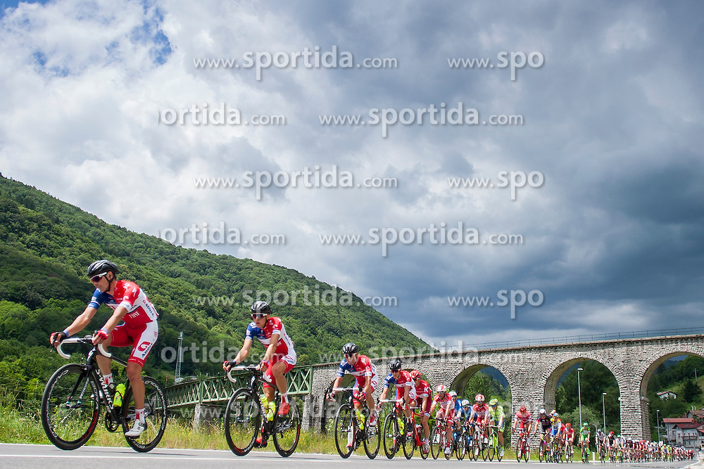 Golcer Jure (Slovenia) of Adria Mobil during Stage 2 of 23rd Tour of Slovenia 2016 / Tour de Slovenie from Nova Gorica to Golte  (217,2 km) cycling race on June 17, 2016 in Slovenia. Photo by Urban Urbanc / Sportida