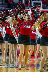 NORMAL, IL - February 26: Redbird Redline Dancers during a college basketball game between the ISU Redbirds and the Bradley Braves on February 26 2020 at Redbird Arena in Normal, IL. (Photo by Alan Look)