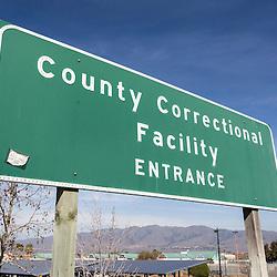 Correctional Facility Entrance Sign