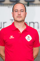 OHL's physiotherapist Joris Van Baelen pictured during the 2015-2016 season photo shoot of Belgian first league soccer team OH Leuven, Monday 13 July 2015 in Leuven.