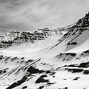 Over the pass to Mjoifjordur, East Iceland
