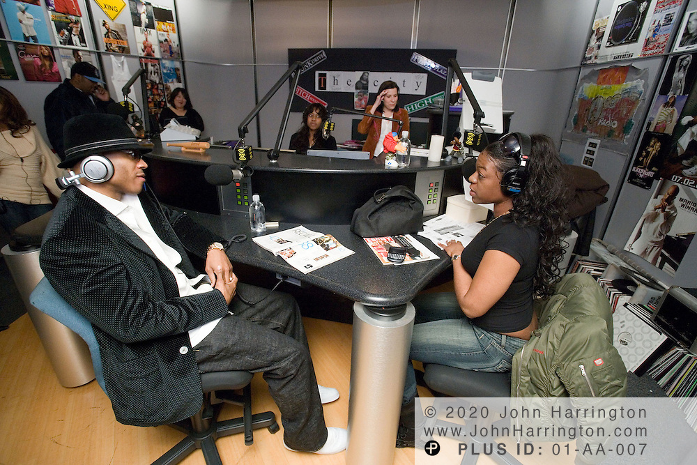 Hip hop artist LL Cool J is interviewed at XM on Wednesday February 15, 2006.