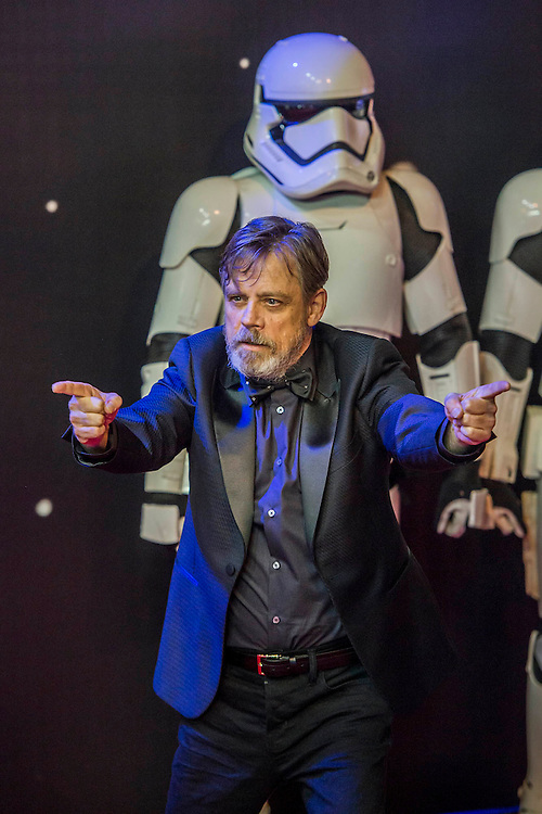 Mark Hamill - The European Premiere of STAR WARS: THE FORCE AWAKENS - Odeon, Empire and Vue Cinemas, Leicester Square, London.