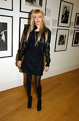 PETRA ECCLESTONE daughter of Bernie Ecclestone at the opening of an exhibition entitled Exceptional Youth supported by Teen Vogue at the National Portrait Gallery, London on 3rd November 2006.<br />
