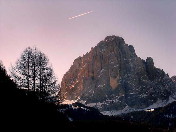 Sellaronda in the Dolomites, Italy.