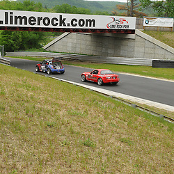 May 23, 2009; Lakeville, CT, USA; Grand-Am Koni Sports Car Challenge series competition during the Memorial Day Road Racing Classic weekend at Lime Rock Park.