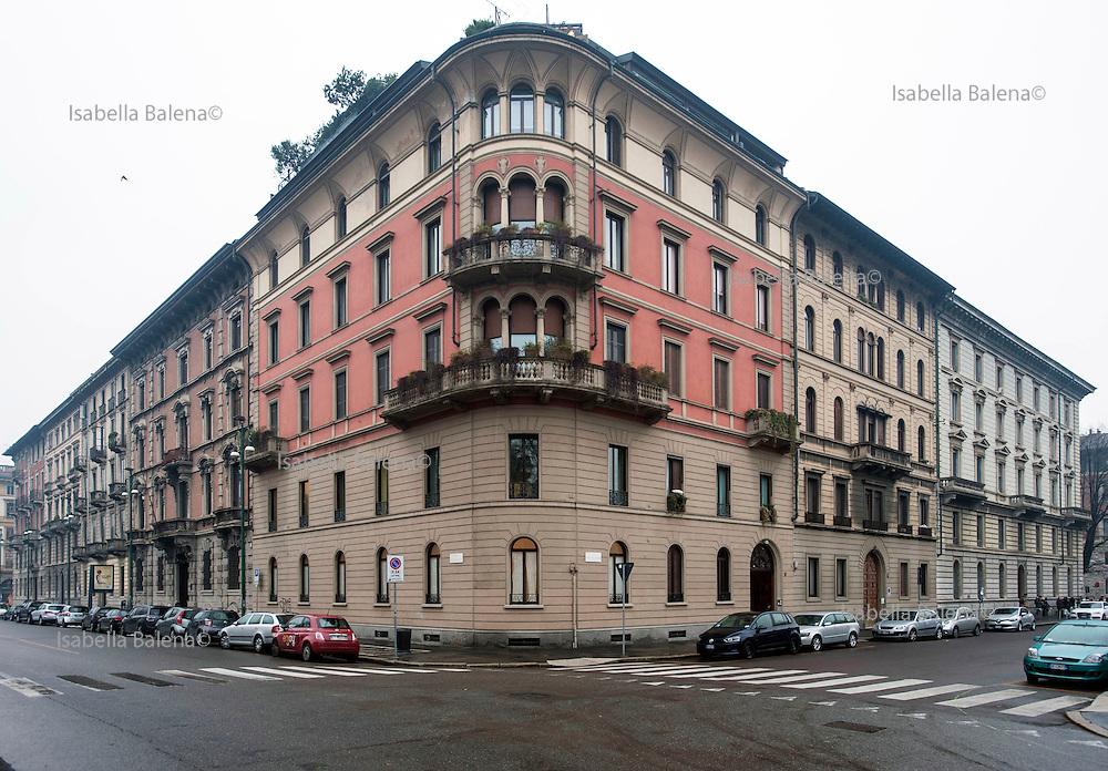 Milano, via Jacini, sede della casa editrice La nave di Teseo