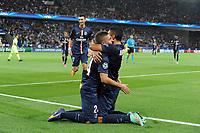 Fotball<br /> 30.09.2014<br /> Foto: Panoramic/Digitalsport<br /> NORWAY ONLY<br /> <br /> joie Marco Verratti apres son but - Marquinhos (PSG)<br /> <br /> PSG / Paris Saint Germain vs Barcelona - Champions League