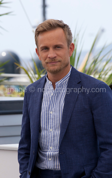 Actor Jérémie Renier at the L'amant Double film photo call at the 70th Cannes Film Festival Friday 26th May 2017, Cannes, France. Photo credit: Doreen Kennedy