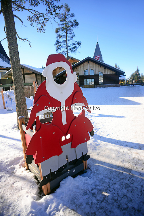 Official Hometown of Santa Claus in Rovaniemi, Lapland, Finland