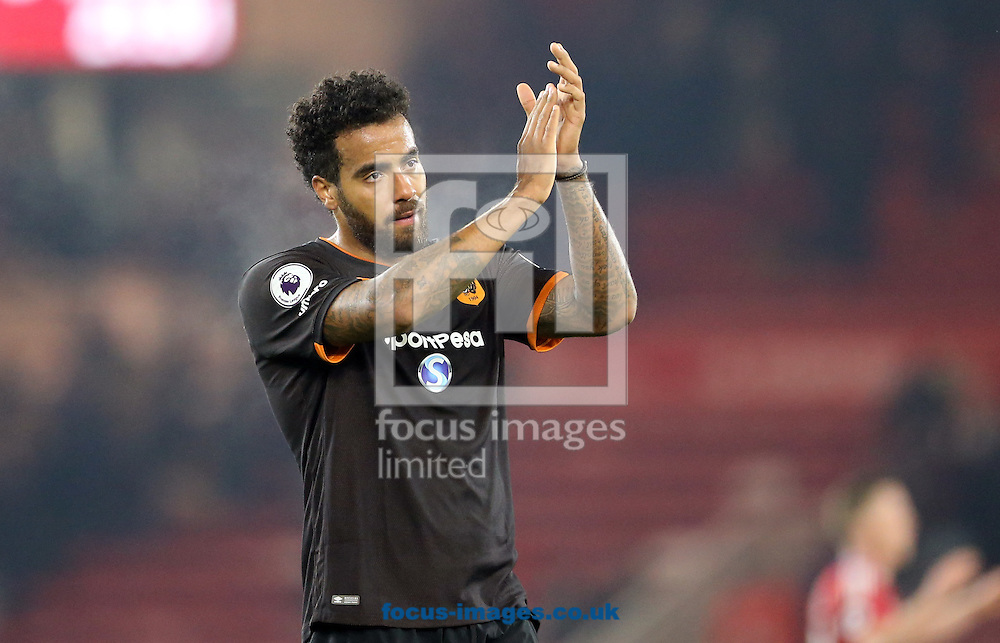 Tom Huddlestone of Hull City Tigers after the Premier League match at the Riverside Stadium, Middlesbrough<br /> Picture by Simon Moore/Focus Images Ltd 07807 671782<br /> 05/12/2016