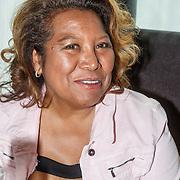 NLD/Amsterdam/20150608 - Inloop uitreiking Hi-Tec Awards 2015, Justine Pelmelay