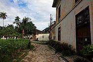 Buildings in Guaos, Cienfuegos Province, Cuba.