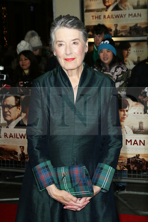 © Licensed to London News Pictures. 04/12/2013, UK. Patti Lomax, The Railway Man - UK Film Premiere, Odeon West End, Leicester Square, London UK, 04 December 2013. Photo credit : Richard Goldschmidt/Piqtured/LNP