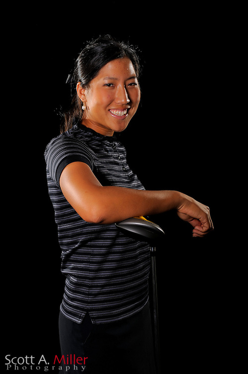 Stephanie Na during a portrait shoot prior to the LPGA Futures Tour's Daytona Beach Invitational at LPGA International's Championship Courser on March 29, 2011 in Daytona Beach, Florida... ©2011 Scott A. Miller