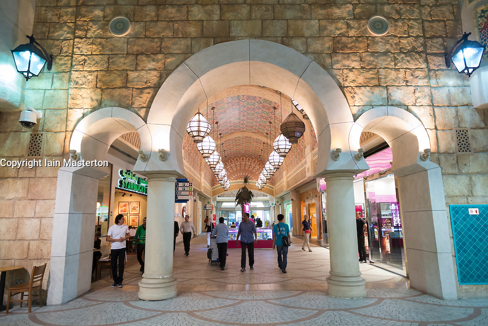 Ibn Battuta shopping mall in Dubai United Arab Emirates