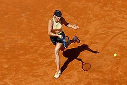 May 18, 2018 - Rome, Italy - Maria Sharapova (RUS) at Foro Italico in Rome, Italy during Tennis WTA Internazionali d'Italia BNL quarter-finals on May 18, 2018. (Credit Image: © Matteo Ciambelli/NurPhoto via ZUMA Press)