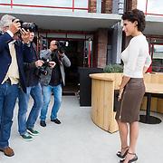 NLD/Amsterdam/20130912 - Talkies Terras Lunch 2013, Kristina Bozilovic word uitgebreid gefotografeerd