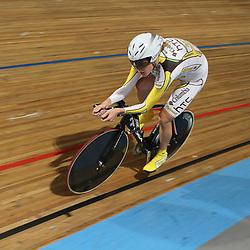 Ellen van Dijk reed de tweede tijd in de kwalificatie