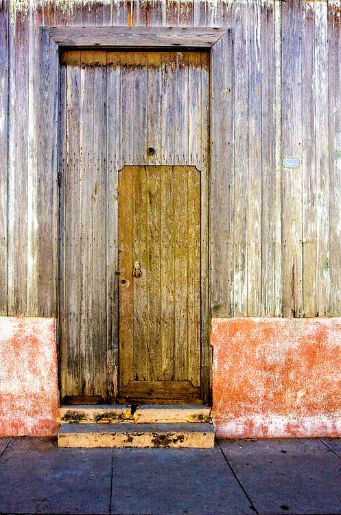 House door in Cardenas, Matanzas, Cuba.