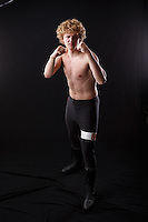 Portfolio image for Britton Baylis to help market himself as a professional wrestler. Photos for use on websites, social media, and applications for event castings.<br /> <br /> ©2016, Sean Phillips<br /> http://www.RiverwoodPhotography.com