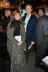 ARABELLA DUFFIELD and MARK WILLIAMS at Fork to Fork - a Fundraising Feast to support The Open Air Classroom Project held at The Dock Kitchen, Portobello Docks, 342-344 Ladbroke Grove, London on 19th May 2015.