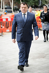 © London News Pictures. 26/09/2013 . London, UK. RAIMONDAS BARANAUSKAS  arriving at Westminster Magistrates Court in London for the start of his full extradition hearing. Baranauskas and the former owner of Portsmouth Football Club, Vladimir Antonov, are accused of asset stripping hundreds of millions of pounds from Snoras Bank. Photo credit : Ben Cawthra/LNP