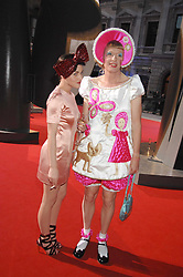 JAIME WINSTONE and GRAYSON PERRY at the Royal Academy of Art Summer Exhibition Preview Party on 4th June 2008.<br /><br />NON EXCLUSIVE - WORLD RIGHTS