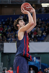 05.10.2013, Fernando Buesa Arena, Vitoria Gazteiz, ESP, Supercopa ACB, FC Barcelona vs Real Madrid, Finale, im Bild FC Barcelona's Ante Tomic // during the Supercopa ACB Final match between Barcelona FC vs Real Madrid at the Fernando Buesa Arena in Vitoria Gazteiz, Spain on 2013/10/05. EXPA Pictures © 2013, PhotoCredit: EXPA/ Alterphotos/ Acero<br /> <br /> ***** ATTENTION - OUT OF ESP and SUI *****