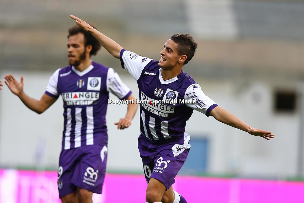 Wissam Ben Yedder - 09.05.2015 -  Toulouse / Lille  - 36eme journee de Ligue 1<br />Photo : Manuel Blondeau / Icon Sport