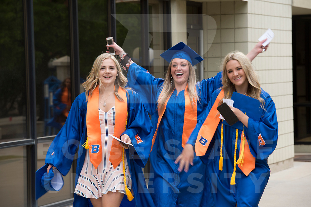 Boise State Spring Commencement, John Kelly photo.