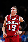 Rotnei Clarke.Arkansas.(Photo by Joe Robbins)