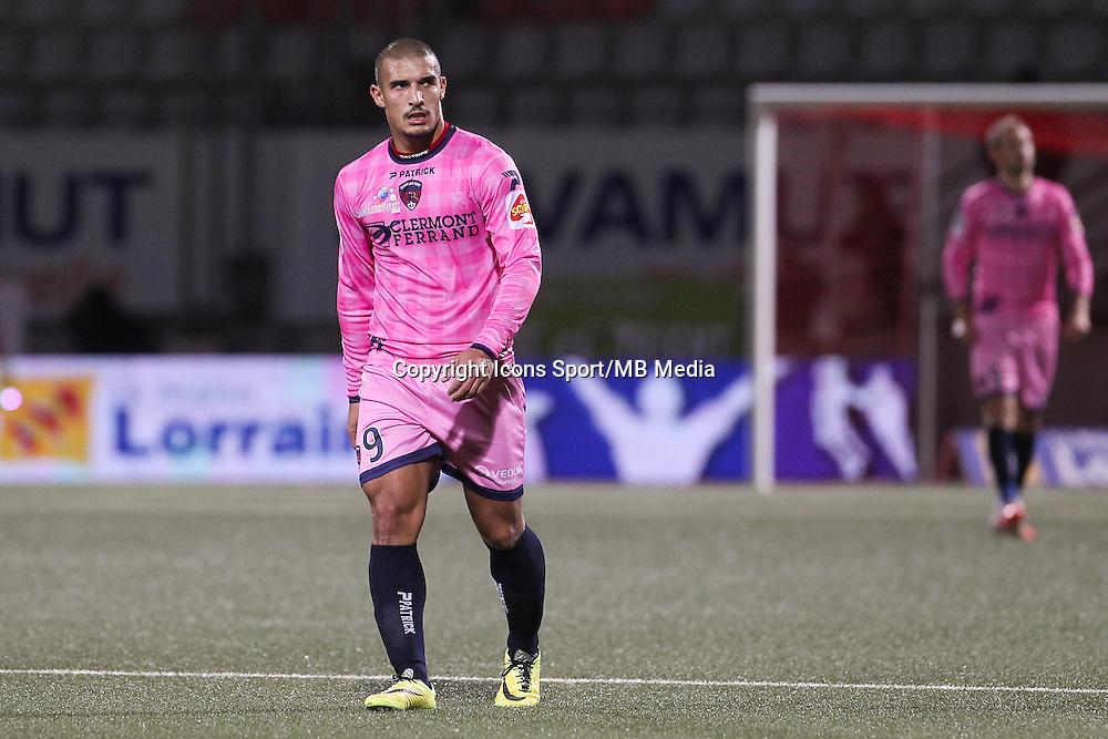 Idriss SAADI - 19.12.2014 - Nancy / Clermont - 18e journee Ligue 2<br />Photo : Fred Marvaux / Icon Sport
