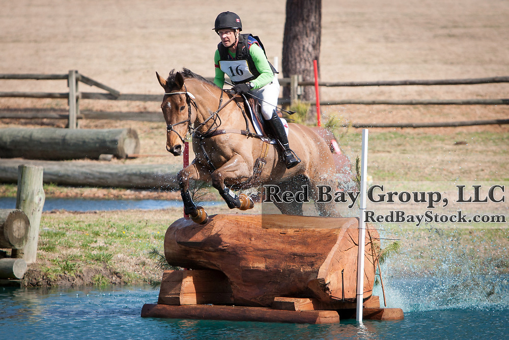 Peter Barry and Kilrodan Abbott at the 2014 Pine Top Farm Advanced Horse Trials in Thomson, Georgia.