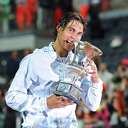 20100502: ITA, ATP World Tour 1000 - Internazionali BNL D'Italia Rome, Finals, Winner Rafael Nadal