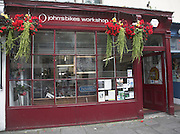 John's Bikes workshop, Walcot Street, Bath, England